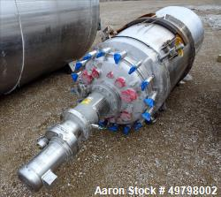 1,000 liter Holloway America 316L SS Reactor, vessel rated 50 psi @350F, jacket rated 150 psi @ 350F, Built 2012, NB #560, S...