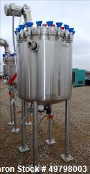 800 liter Holloway America 316L SS Reactor (no drive ?), vessel rated 50 psi @350F, jacket rated 150 psi @ 350F, Built 2012,...