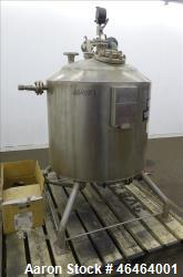 """Alloy Fab Reactor, 100 Gallon, Model TA-53P, 316L Stainless Steel, Vertical. Approximate 30"""" diamet..."""