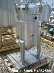 Used- DCI Reactor, 50 Liter, Stainless Steel. Internal rated 45 PSI internal at 350 Degrees F. Jacket rated 120 PSI at 350 D...