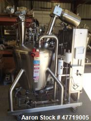 Used- DCI Reactor, 370 Liter (97.7 Gallon), 316L Stainless Steel, Vertical.