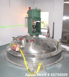 Used- 10,000 Liter DCI Inc 316L SS Reactor