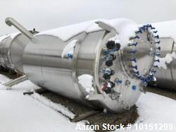 Used- Approximately 2,700 Gallon (10,800 Liter) 316L Stainless Steel Bioreactor