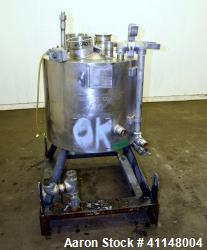 Used- 30 Gallon Stainless Steel Eastman Kodak Reactor