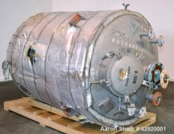 Used- 800 Gallon Stainless Steel Precision Stainless Reactor