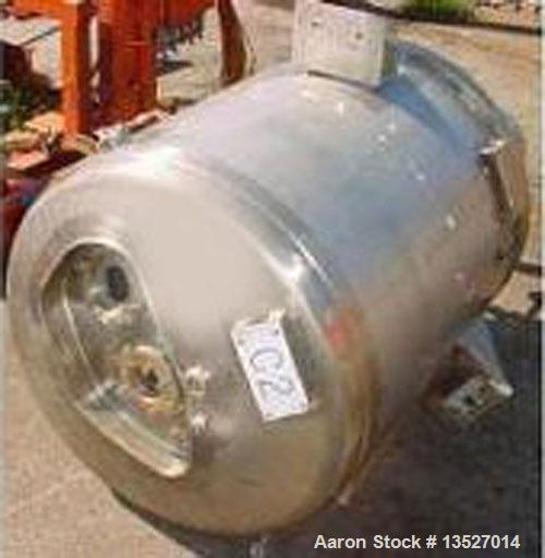 Used- 80 Gallon Stainless Steel Northland Stainless Inc Reactor