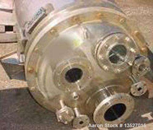 Used-Northland Stainless Inc reactor, approximately 65 gallon. T316 stainless steel (8 ga) inner shell, inner top head and i...