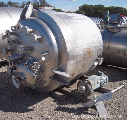 "Used- Northland Stainless Reactor, 575 Gallon, 316L Stainless Steel, Vertical. Approximately 54"" diameter x 54"" straight sid..."