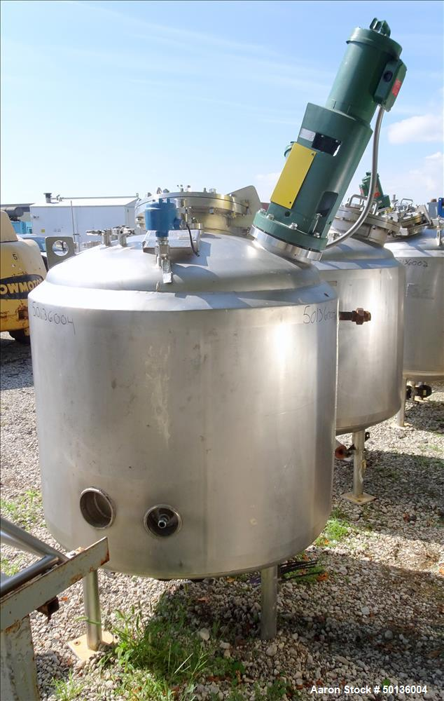 Used- Northland Stainless Reactor, Approximate 200 Gallon, 316 Stainless Steel