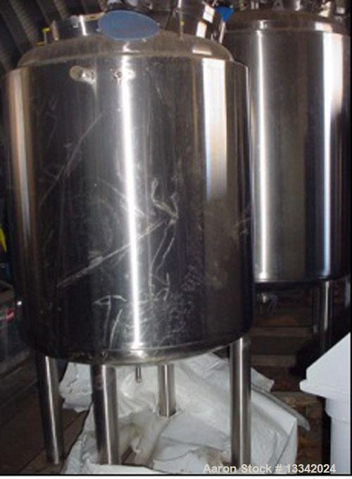 Used- 700 Liter Stainless Steel Precision Stainless Jacketed Reactor