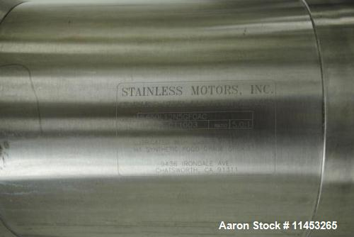 Used- 3500 Liter Precision Stainless Reactor. 316L stainless steel construction, dish top and bottom, rated 50 psi and full ...