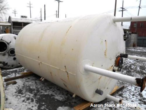 """Used- 1500 Gallon Precision Stainless Reactor. 316L stainless steel construction, approximately 66"""" diameter X 108"""" straight..."""