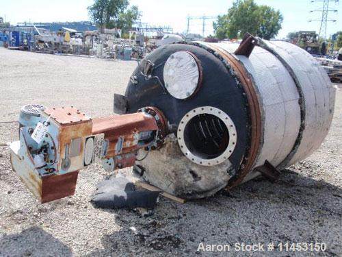 Used- 700 Gallon Stainless Steel Roben Reactor