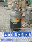 Used: Acme Industrial reactor, 12 gallon, stainless steel. Approximately 14
