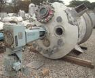 Used- Alloy Fab Reactor, 1000 gallon, 316L stainless steel, vertical. 60