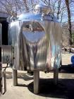 Used- Berents 560 Gallon Reactor, Stainless Steel.