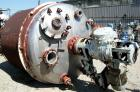 USED: Kimberton reactor, 1100 gallons, 304 stainless steel clad.72