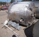 Used- Northland Stainless Reactor, 575 Gallon, 316L Stainless Steel, Vertical. Approximately 54
