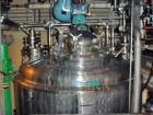 Used-Paul Mueller 500 Gallon, 316L Stainless Steel, Reactor. 54