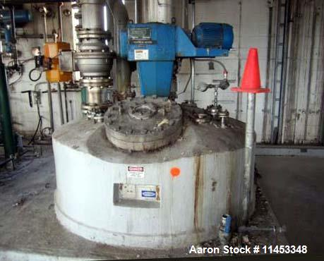 Used- 1000 Gallon Walker Reactor System. Consisting of the following: One (1) 1000 gallon Walker reactor, 316L stainless ste...