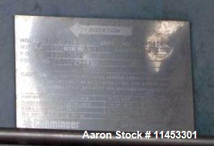 """Used- Whiting Metals Reactor, 1,500 Gallon. 304 stainless steel construction, 68"""" diameter x 81"""" straight side, dished top. ..."""
