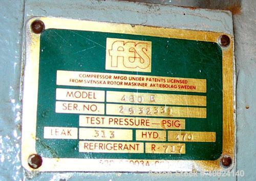 Used- Fes Chiller, Model 480E