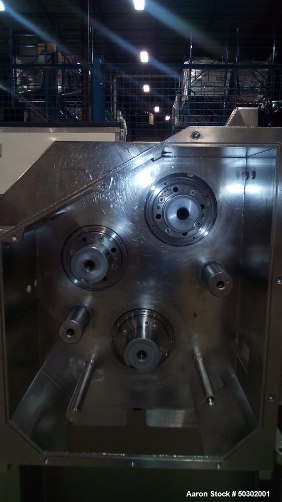 Used- Gerteis Roller Compactor.