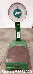 Used- Homs Dial Floor Scale, Model: 50kg