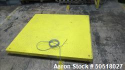 Used-FAIRBANKS FLOOR SCALE , MODEL 3500-211 SN 113630020001, 5000 POUND CAPACITY, NO CONTROLS