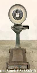 Used- Toledo Honest Weight Dial Floor Scale, Model 62-1821