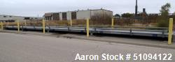 Used- Mettler Toledo 80' Long Orthotropic Steel Deck Truck Scale, Model VTS100, 200,000 Pound Capacity. Consists of (4) Sect...