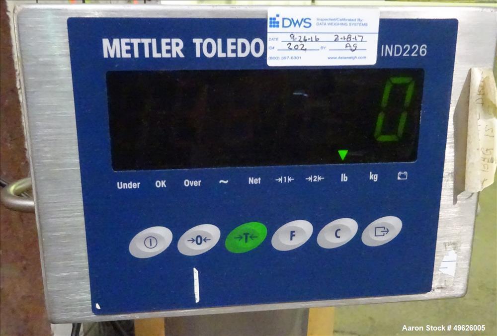 Used- Mettler Toledo Floor Scale, Model 2888, 304