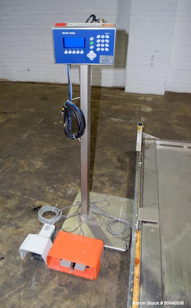Used- Mettler Toledo Low Profile Floor Scale, Model PUA579