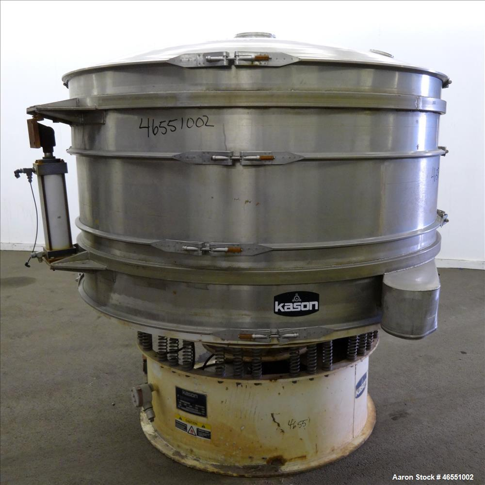 Used- Kason Screener, Model K72-2-SS