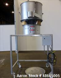 Used- Circular Sieve Screener, 304 Stainless Steel.