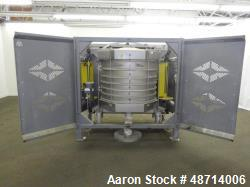 Used- Great Western Manufacturing QA Series In-Line Sifter, Model QA46, 304 Stai