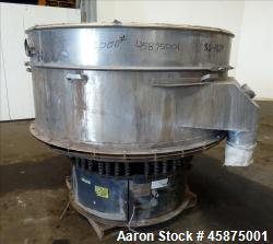 Used- Kason Vibrating Screen Separator, Model 72-2AD-SS.