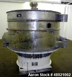 Used- Kason Vibrating Screen Separator, Model K-72-2-SS