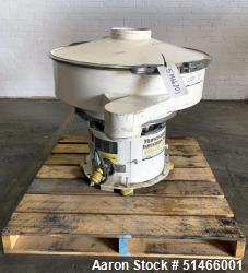 Used- Midwestern Screener, MR24C24-36-RAS. 1/3 HP. 3/60/230/460 Volt. Mounted on base. Serial# 1116-2064.
