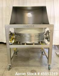 "Used- Sweco Circular Screener 48"", Model LP48S86BDEPSD"