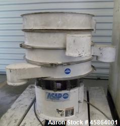 """Sweco Shaker Screen, Model LS 24C4444. 24"""" diameter screen, steel construction, 1/3hp Baldor electr..."""