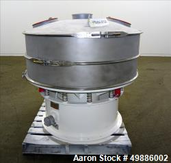 "Used-Sweco 48"" Diameter Vibratory Screener, Model LS48SS"