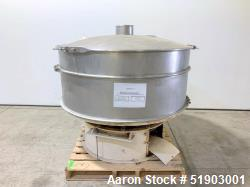 """Sweco 60"""" Stainless Steel Screener"""