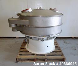 "Sweco 48"" Diameter Vibratory Screener, Model XS48S88, Stainless Steel. Single deck, 2 separation. I..."