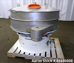 "Used- Macon 48"" Diameter Vibratory Screener"