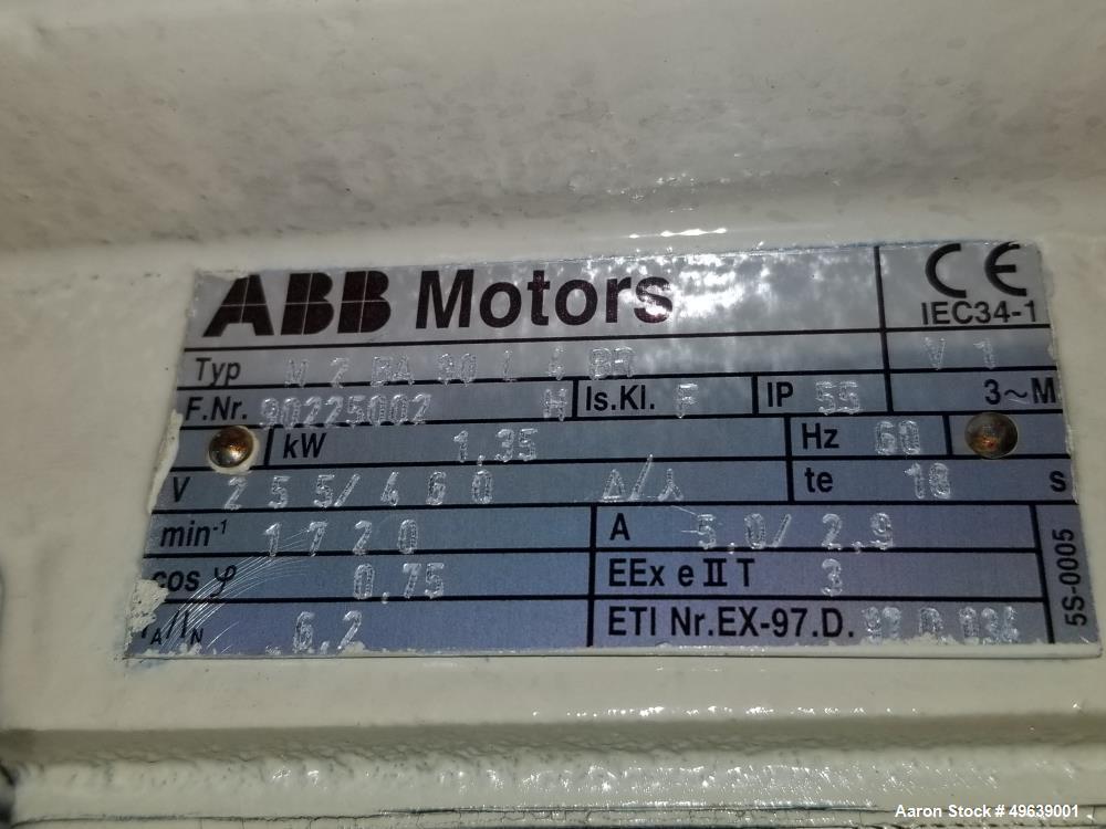 "Used- Minox Tumbler Screening Machine, Model MTS1000/2. 1000MM diameter (39.3""). Stainless Steel, Double Deck, 3 Separation,..."