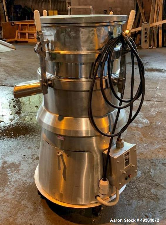 Used- Russel Finex Stainless Steel Sifter, Model 16300.