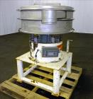 Used- Gump Vibratory Screener, Model CV-301, 30