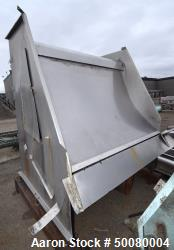 "Used- CE Bauer Hydrasieve Screener, Stainless Steel. Approximate 72"" wide x 53"" long slotted screen. Mounted on a carbon ste..."