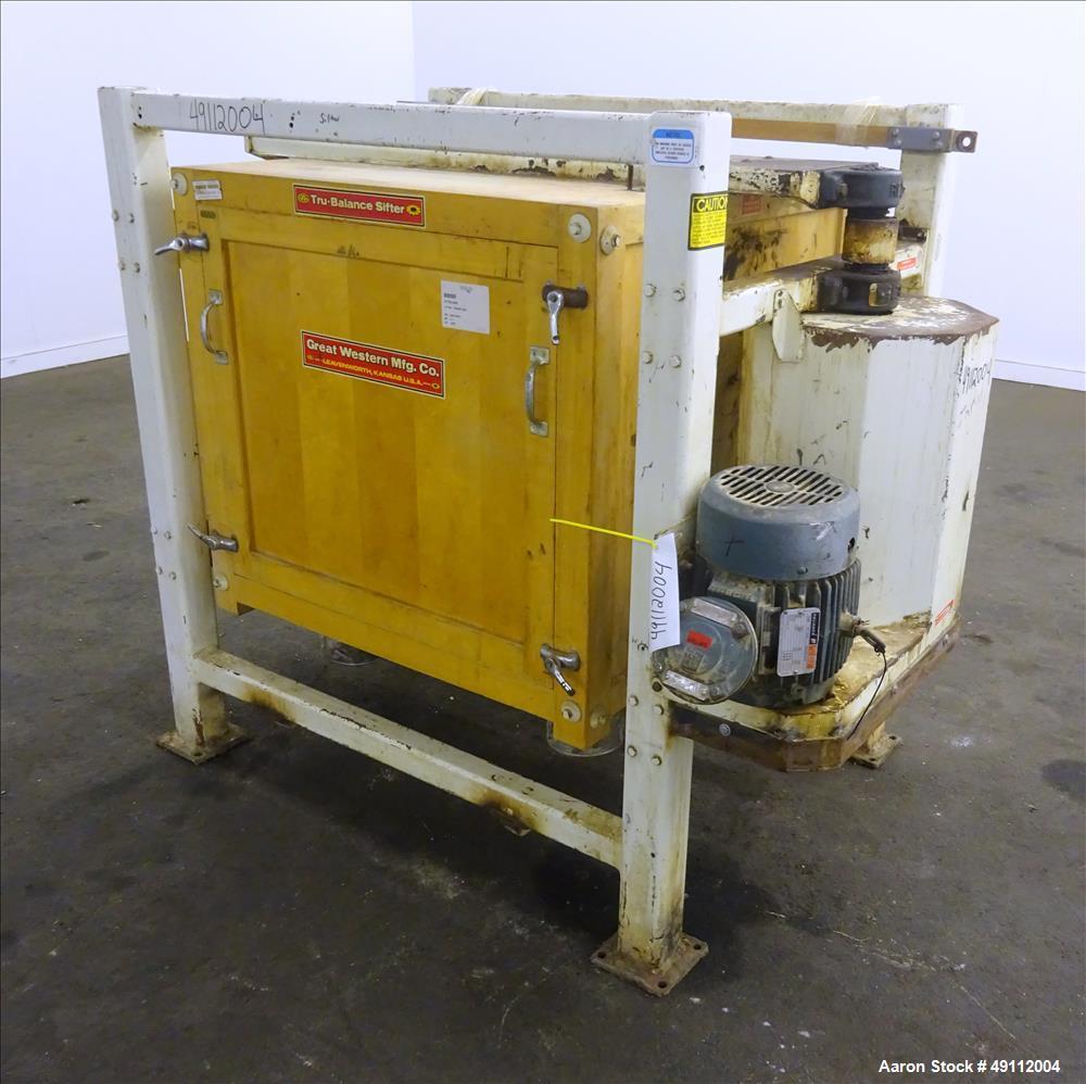 Used- Great Western Tru-Balance Sifter, Model 211.
